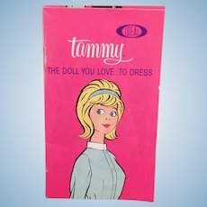 Vintage Ideal Tammy Doll Booklet with Tammy's Family - Clothes Outfit Phamplet