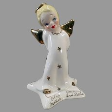 1950's Vintage Yona Original Angel – Obey Your Mother and Father Angel