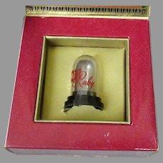 Vintage Ruby Gem Phonograph Needle with Original Packaging
