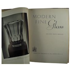 Vintage Reference Book - 1937 Modern Fine Glass by Leloise Davis Skelley