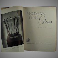 Vintage Reference Book - 1937 Modern Fine Glass by Leloise Davis Skelley