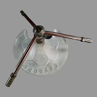 Vintage Hubbard - Cast Metal Three Arm Lawn Sprinkler