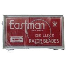 Vintage Eastman Razor Blades - Full Package for Old Autostrop Razor
