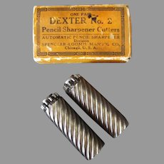 Vintage Dexter #2 Pencil Sharpener Replacement Cutter Blades