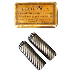 Vintage Dexter #2 Pencil Sharpener Replacement Cutter Blades