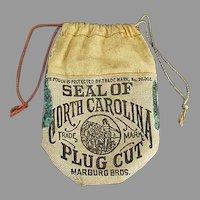 Vintage Tobacco Advertising - Seal of North Carolina Tobacco Pouch