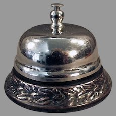 Decorative Vintage Counter Bell for Old General Store Counter or Hotel Desk