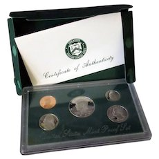 United States Mint Set - 1998 with Kennedy Half Dollar - Original Packaging