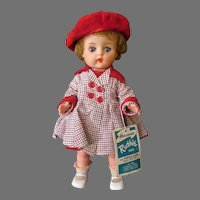Vintage 1960's Ruthie Horsman Doll with Original Outfit and Hang Tag