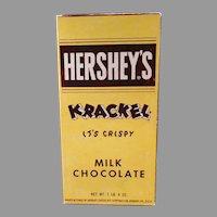 Vintage Candy Box - Hershey's Milk Chocolate Krackel Candy Bar Box