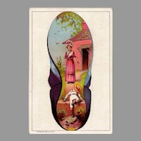 Vintage Advertising Trade Card – Hafertepen Boot and Shoes Hamilton, Ohio