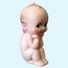Vintage Plastic/Vinyl Cameo Rose O'Neill Kewpie Doll in Very Cute Pose