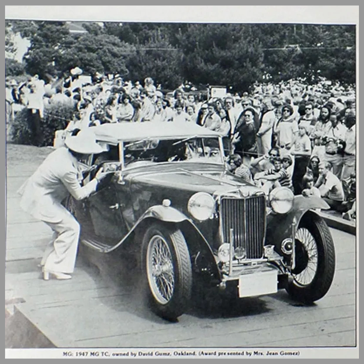 Vintage 1977 Pebble Beach Concours d'Elegance Program - Old Car ...
