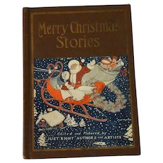 Vintage 1926 Merry Christmas Stories Book – Good Cheer Tales from Just Right Editions