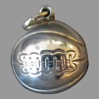 Vintage Sterling Silver Basketball Charm with Nice Detail