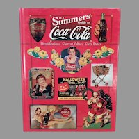 Reference Coca Cola Book by B. J. Summers - 1997 Coke Advertising Collectibles Reference