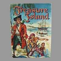 Child's Vintage Treasure Island Book by Robert Louis Stevenson