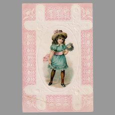 Antique Lion Coffee Advertising Trade Card from the Woolson Spice Company
