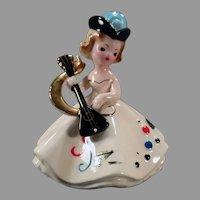 Vintage Josef Original Porcelain - Doll of the Month Series - Month of October