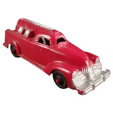 Vintage #709 Manoil Die Cast Fire Engine - 1950's