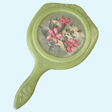 Vintage Hand Mirror for Dolly or Little Girl