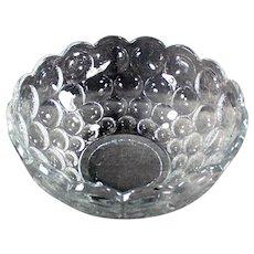 Vintage Heisey Glassware Serving Bowl - #1506 Provincial Pattern