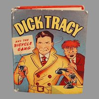 Vintage #1424 Better Little Book - Dick Tracy and the Bicycle Gang