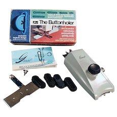 Vintage Greist Buttonholer - Greist 1966 Model #7 Button Hole Attachment