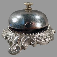 Ornate Vintage Hotel or Store Counter Bell  – Hear it on Facebook