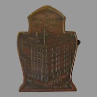 Vintage Sperry and Hutchinson Advertising Paper Clip with S&H Building 1920's
