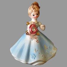 Vintage Josef Original Month of April Birthday Diamond Birthstone Doll