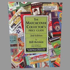Matchcover Collector's Price Guide - Matchbook Cover Reference Book - 1997 2nd Edition Paperback