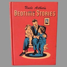 Child's 1950's Vintage Book – Uncle Arthur's Bedtime Stories – Volume One