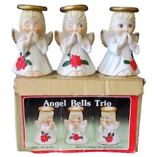 Set of 3 Vintage Christmas Angel Bells with Original Box – House of Lloyd