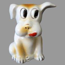 Funny Vintage Dog Toothbrush Holder – Made in Japan