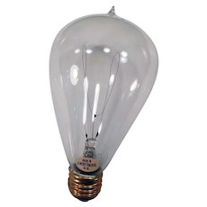 Vintage Electric Light Bulb – 32/120 Sunlight with Looped Filament - Works