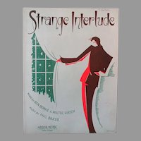 Vintage Sheet Music – Strange Interlude - 1932