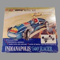 Vintage Hubley Scale Model Metal Kit #852K-300 Indianapolis 500 Race Car