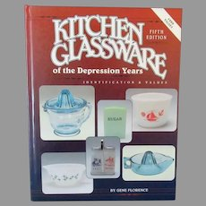 Old Reference Book – Kitchen Glassware of the Depression Years 5th Edition, Gene Florence