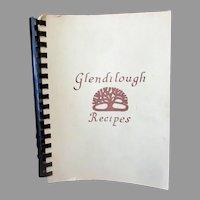Vintage 1977 Glendilough Recipes Cook Book