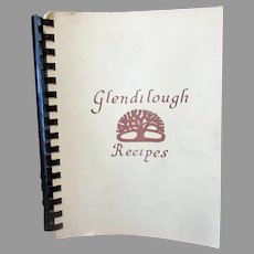 Vintage 1977 Glendilough Recipes Cook Book