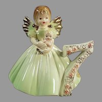 Vintage #7 Josef Original Birthday Angel - Age Seven