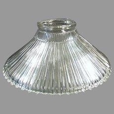 Single 1905 Vintage Light Fixture Shade - Franklin, Reflector Style