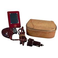 Vintage Norelco Razor - Sportsman Electric Bakelite Razor in Original Case