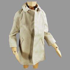 Vintage All Weather Over Coat for Mattel's Ken Doll