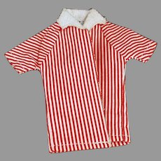 Vintage Ken Doll Clothes - Striped Beach Jacket for Mattel's Ken Doll
