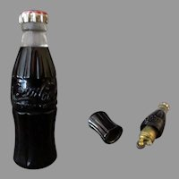 Vintage 1950's Miniature Coke Bottle Cigarette Lighter – Coca-Cola Advertising Premium
