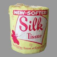 Vintage 1956 Toilet Paper - Crown Zellerbach Silk Toilet Tissue