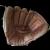 Vintage Right-Hand Leather Baseball Mitt Glove – Wilbur Wood Autograph Model Registered #60-21208