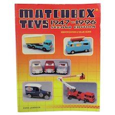 Reference Book – Matchbox Toys 1947 to 1996 Second Edition - Dana Johnson